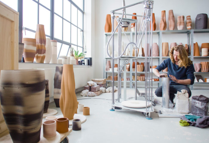 3D Printed Ceramics Studio